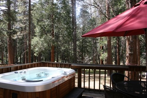 Creekside Hot Tub