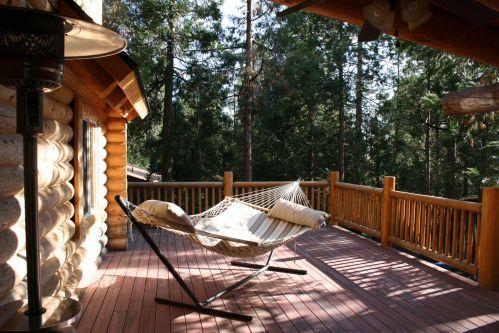 log cabin hammock